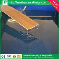 Cheap Embossed plastic type vinyl plank flooring with SGS from Hanshan for sale