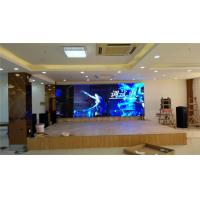 Best Big Viewing Angle 4mm Indoor Full Color LED Display Front / Back Maintenance wholesale