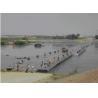 Best Q345B Steel Heavy Loading Floating Pontoon Bridge Anti Rust Bailey Truss Bridge wholesale