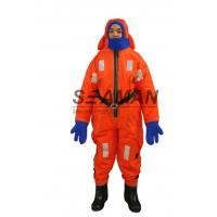 Buy cheap Polyester Flotation Suit Marine Insulated Immersion Suit For Survival At Sea from wholesalers