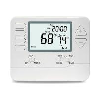 Buy cheap 24V Digital Room Heat Pump Thermostat With Large Digital Display Dual Powered from wholesalers