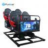 Best Movie Theater 5D Cinema Equipment 220 V 6 DOF Movement 3.75-5.50KW 12 Months Warranty wholesale