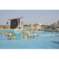 Quality Water Park Wave Pool Equipment , Waterpark Wave Machine For Family Fun in Aqua Park wholesale