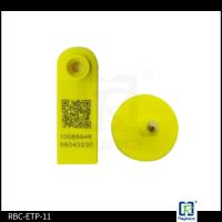 Best Goat RFID Animal Ear Tags , Two Pieces Livestock Tracking Tag ETP11 wholesale