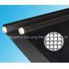 Black Plain Weave 90T Loudspeaker Mesh 230 Inch 81um , Waterproof