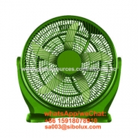 China 20 inch plastic box fan table fan with 3 speeds for office and home appliances /Ventilador de mesa for sale