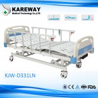 Best 3 Functions FDA Electric Hospital Bed , Anti - Rust Intensive Care Beds wholesale