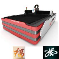 Best 1000W HE Fiber Laser Cutting Machine , Laser Sheet Metal Cutting Machine wholesale