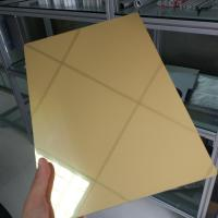 Best Waterproof Aluminum Mirror Sheet 1mm 2mm 3mm Thickness Perforated Exterior wholesale