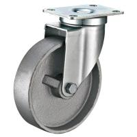 Steel Heavy Duty Industrial Casters And Wheels For Trolley Carts 180lbs
