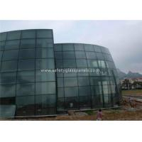 Best Bathroom Euro Grey Float Tempered Glass Sheets Fire Resistant Shockproof wholesale