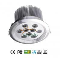 Best Cree 8w Led Recessed Downlights 800lm 85v - 265v For Cabinet , Aluminum Shell wholesale