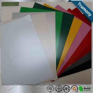Best Multicolor FEVE Aluminium Composite Panel Sheet Thickness 3mm ~ 6mm Custom Length wholesale