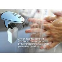Best Wall Mount Plastic Automatic Hand Soap Dispenser / Bathroom Touch Free Hand Sanitizer Dispenser wholesale