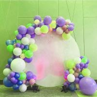 Best Custom Print Acrylic Plate Display Stands Backdrop Decoration Wedding Round White wholesale