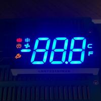 Buy cheap Customized ultra blue / red / yellow 3 digit 7 segment led display for from wholesalers