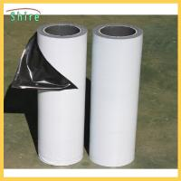 Best Low Adhesion Black&white Protective Film For Mirror Polished Stainless Steel Sheet wholesale