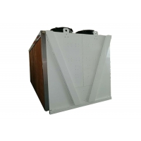 Industry Hybrid Dry Cooler With Wet Curtain For Crypto Mining for sale