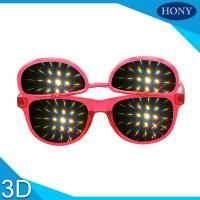 Quality PH0028 Flip Up  Diffraction  Glasses With CE FCC RoHS Strong Effect Glasses wholesale