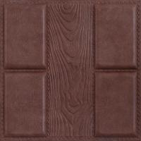 Best Quality-assured Beautiful decorative Factory price 3D leather wall panel wholesale
