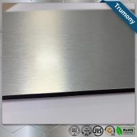 Best Custom Color Stainless Steel Composite Panel Brushed Fireproof A2 Core wholesale