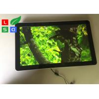 Best Wall Mounting Indoor LCD Advertising Display U - Disk Control 1080x1920 Resolution wholesale