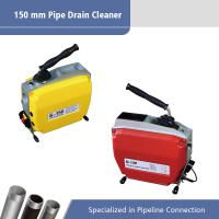 Best 150 MM Sectional Electric Drain Cleaner / Electric Pipe Cleaning Machine wholesale