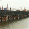 Best Hot Dip Galvanized Floating Pontoon Bridge Bailey Type Temporary Road Bridge wholesale