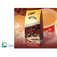 China Customizable Printing Coffee And Tea Packaging For Coffee , One Way Valve on sale