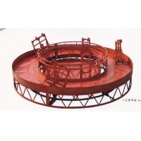 Cheap Red Rounded Lifting Powered High Working Rope Suspended Platform for Building Maintenance for sale
