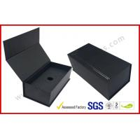 Buy cheap Black High End Embossed Paper Boxes Magnetic E-Cigar Packaging from wholesalers