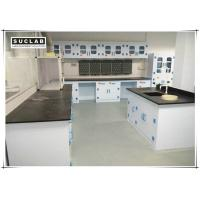 Buy cheap Epoxy Resin Countertop Science Lab Tables , PP Lab Furniture With PP Drawer from wholesalers