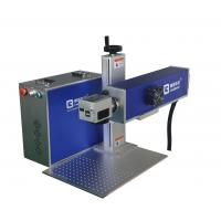 Buy cheap Plastic Button 10w Fiber laser Marking Equipment, handle fiber laser marking from wholesalers