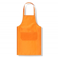 Best Flyita Custom Logo Printing Gardening Apron Polyester Green Color Wholesale Blank Cooking Apron wholesale