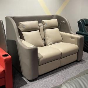 Best Contemporary Home Cinema System With Couple VIP Seating With Colorful Design wholesale