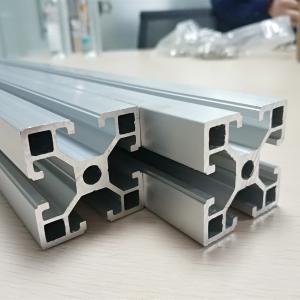 Best Cold Drawn Aluminum Spare Parts Anodize T Slot Extruded Frame Profile Durable wholesale