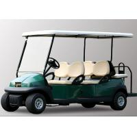 Quality 48V 6 Seater Electric Golf Cart With Aluminum Chassis For Transportation wholesale