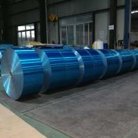 Best 8011 Hydrophilic Aluminum Strip Roll Blue Heat Exchanger For Air Conditioner wholesale