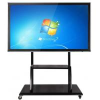 Best Floor Stand Movable Touch Screen LCD Monitor Support Windows/Android For Teaching wholesale