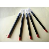 Best Long Lasting Red Lipstick Pencil PVC High Performance Simple Design ISO wholesale