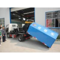 Quality Chang'an 4*2 LHD mini hook lifter garbage truck for sale,best price and high quality Chang'an skid loader for sale wholesale