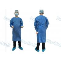 Buy cheap Barrier Disposable Surgical Gown , SMS Surgery Gown Alcohol Resistant With from wholesalers