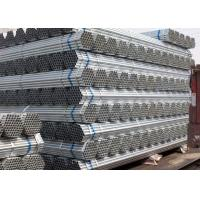 Best 2.5mm Flat End 48.3mm Galvanized Round Pipe For Water wholesale