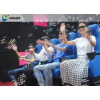 Best Smooth Seat Action 4d Cinema Theater With Vibration / Movement / Push Back wholesale