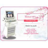 Best Portable / Vertical HIFU Machine Anti Wrinkle / Face Lift Machine 110-240V 50/60Hz wholesale