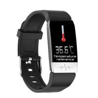 Best Android System Temperature Smart Watch 1.14 Inch IPS Color Screen TFT Dispaly wholesale