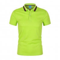 Best Custom Work Polo Shirt OEM High Quality Embroidery Logo Green Color  Business Men Fit Quick Dry wholesale