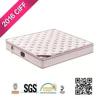 China Machinery Making High Quality Bedroom Interior Vacuum Packged Queen Box Top Metal Coil Pocket Sprung Mattress for sale