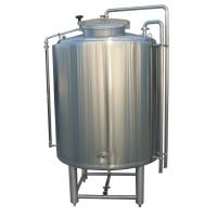 Buy cheap ISO / CE 1000L Large Fermentation Tanks SS304 Fabrication 2MM Thickness Steam from wholesalers