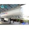 Quality 3 Axle Crude Oil Fuel Tank Semi Trailer with Single Cabin A / C , 36 Cbm Volume wholesale